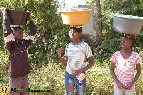 Vendedores de rua em Moçambique
