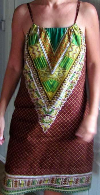 Imagem de Vestido de capulana