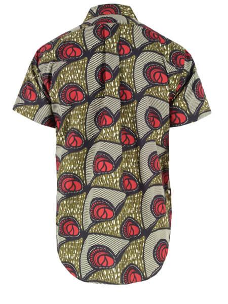 Camisas de Capulana coloridas