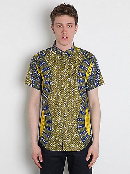 Camisas de Capulana para adolescentes