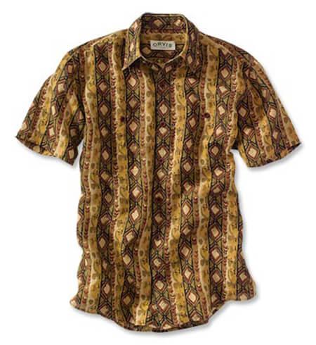 Camisas de Capulana modelo