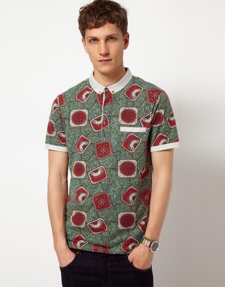 Camisas de Capulana para jovens