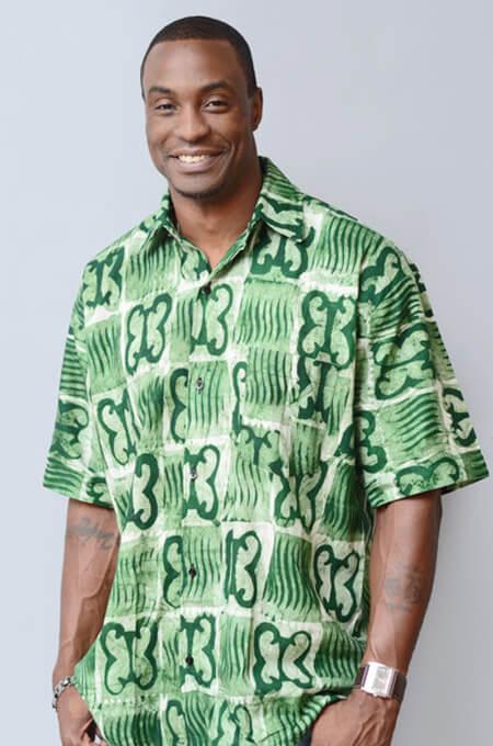 Camisas de Capulana verde