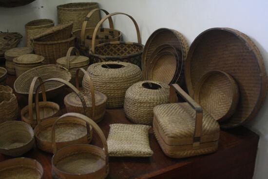 Museu de História Natural cestos