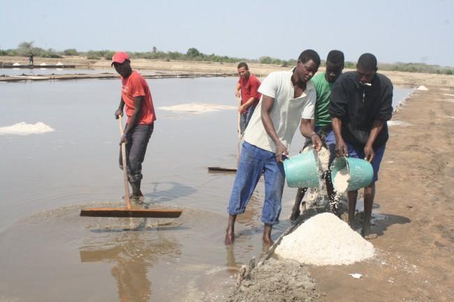 Produção de Sal em Moçambique
