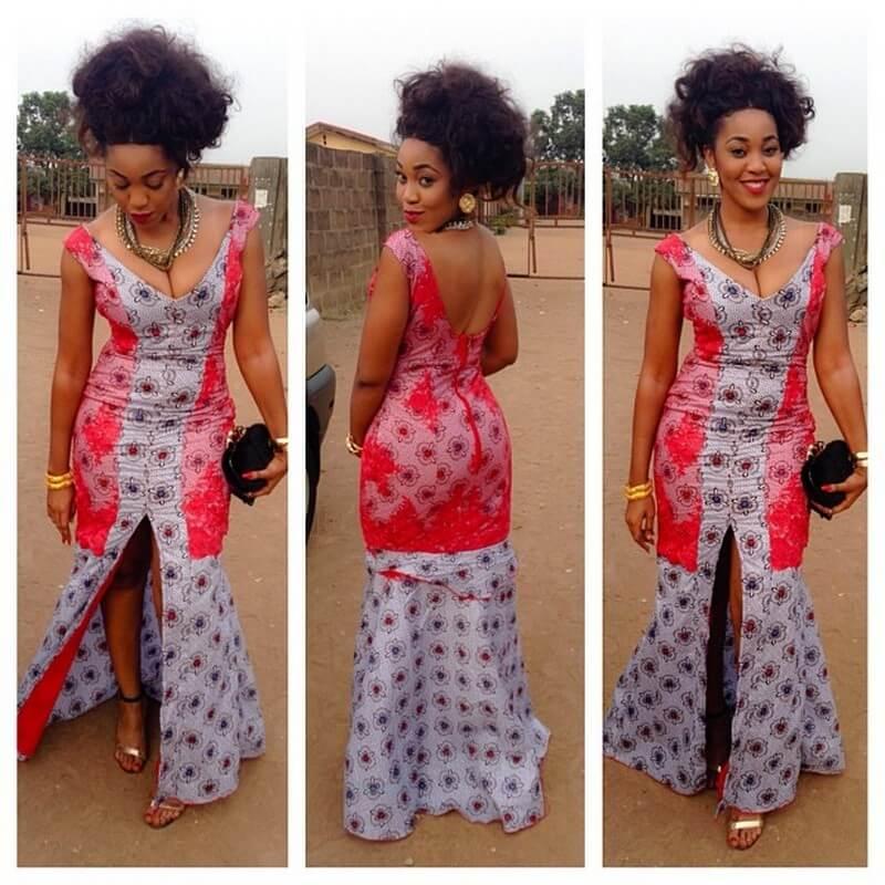 Roupa Africana Femenina