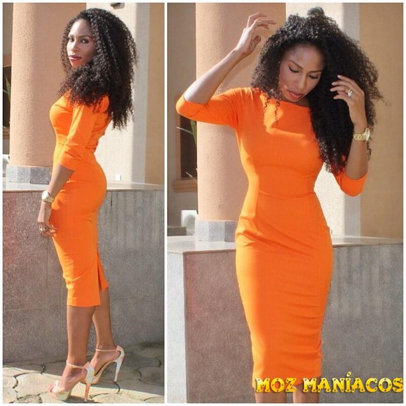 moda para africanas executivas
