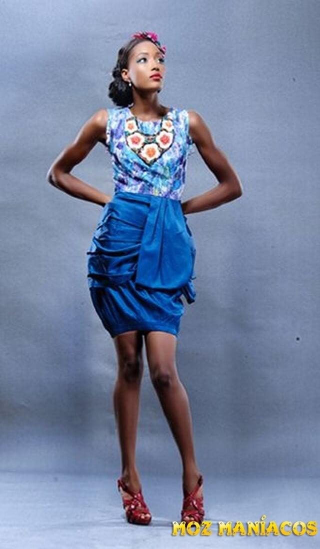 Galeria de fotos de vestidos curtos de capulana