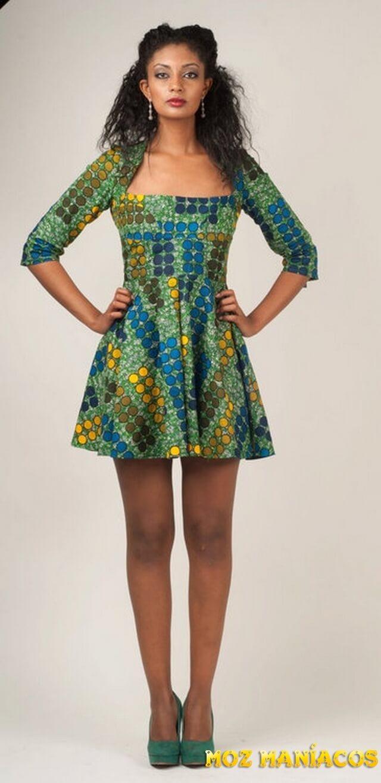 BLUSAS DE CAPULANA com calça shorts ou saia moda africana