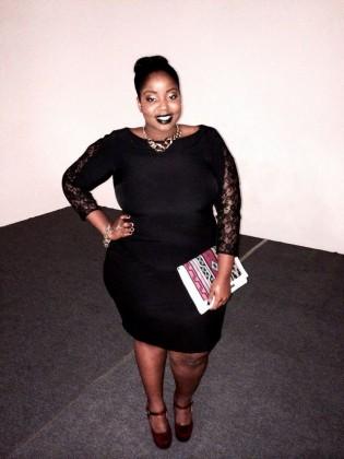 Vestido preto fashion
