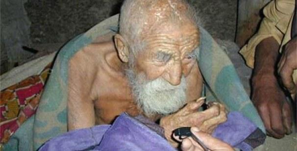 Mahashta Mûrasi: O Homem Mais Velho do Mundo