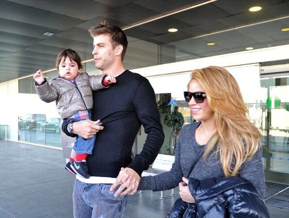 Milan, Piqué e Shakira