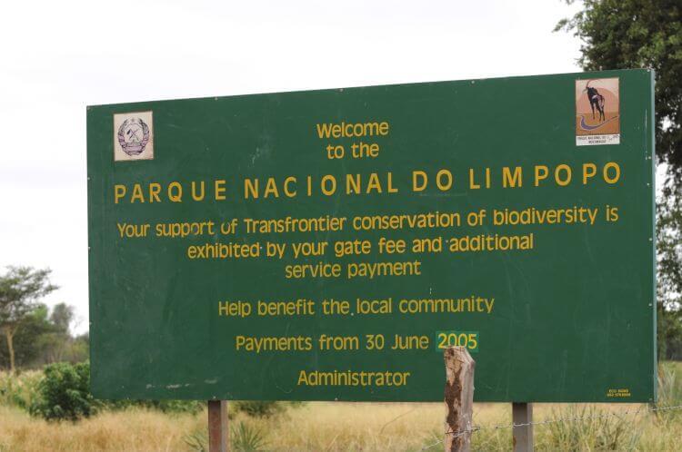 Parque Nacional do Limpopo
