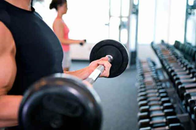 Faça musculação