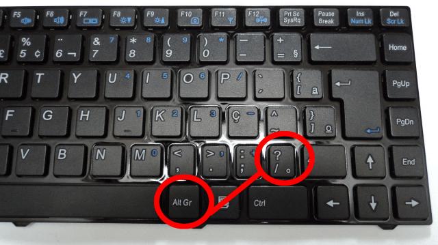 teclado alt248