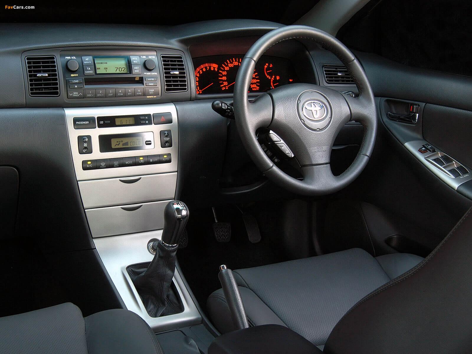 Toyota Runx Rsi Interior Olivero Pimped Corolla Maputo Car